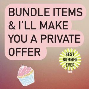 Bundles BUNDLES Bundles